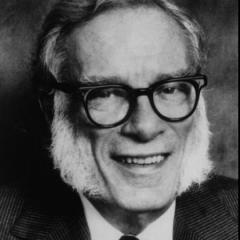 Isaac Asimov – ou o cara com as melhores costeletas do mundo.