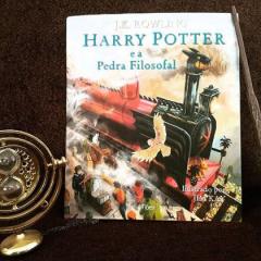 Indicação de Livro – Harry Potter e a Pedra Filosofal – Versão Ilustrada