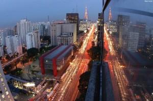 Avenida Paulista, em São Paulo-SP.