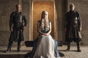 Daenerys, Barristan e Jorah
