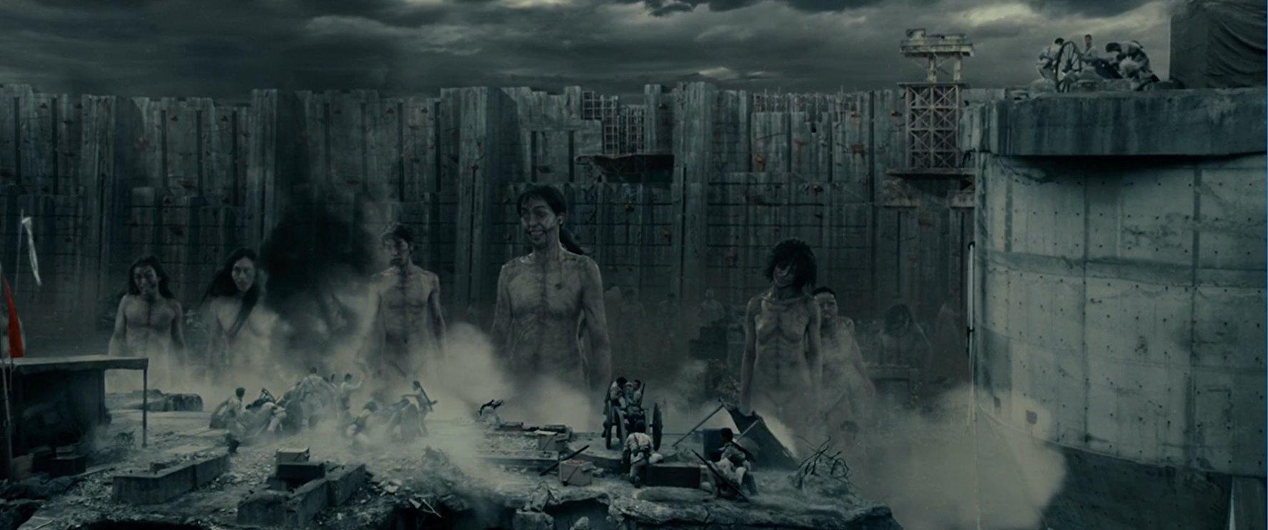Muralha de titãs