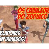 CAVALEIROS DO ZODIACO da NETFLIX tem seus dubladores divulgados