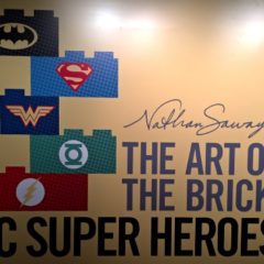 "Exposição ""The Art of the Brick: DC Super Heroes"" encanta os fãs"