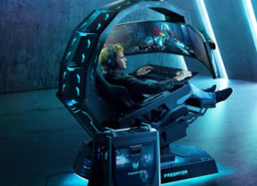 Predator Thronos na BGS – A experiência definitiva para gamers