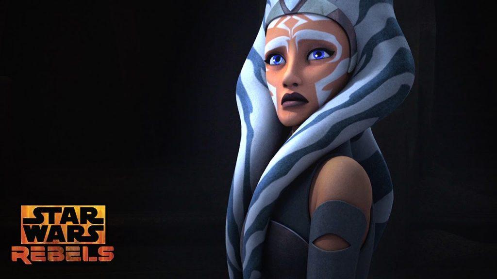 Ahsoka Tano em Star Wars Rebels